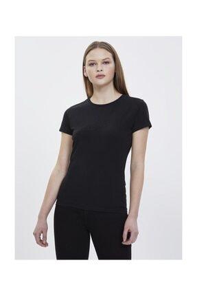 Loft Kadın Yazılı Baskılı Slim Fit Tişört 1