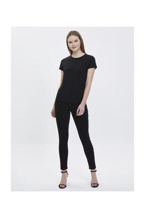 Loft Kadın Yazılı Baskılı Slim Fit Tişört 3