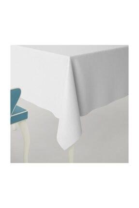 LARİS Duck Masa Örtüsü Su Geçirmez Leke Tutmaz Beyaz 160 x 250 cm 0