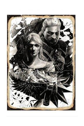 Tablomega Karanlık Çift The Witcher Dekoratif Mdf Tablo 50x70 cm 0