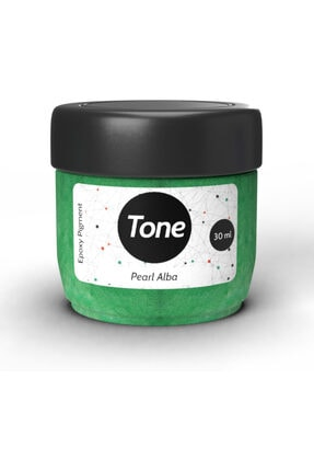 Resinin Tone Pearl Alba Epoksi Pigment Renklendirici Sedef Renk 30 ml 0