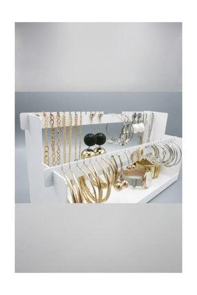 Fume Design Beyaz Takı Standı 4