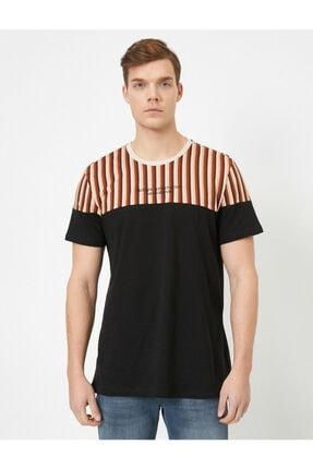Koton Erkek Siyah T-Shirt 0YAM14713OK 2