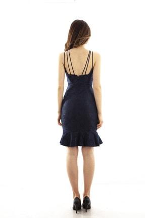 Ardanewline Kadın Lacivert Elbise 130136-10 2