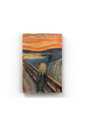 Shop365 Edvard Munch Çığlık The Scream Kanvas Tablo 40 X 60 Cm Tb-4952O 0