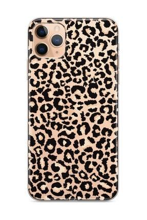 wowicase Apple Iphone 11 Pro Telefon Kılıfı Siyah Leopar Deseni Tasarımlı 0