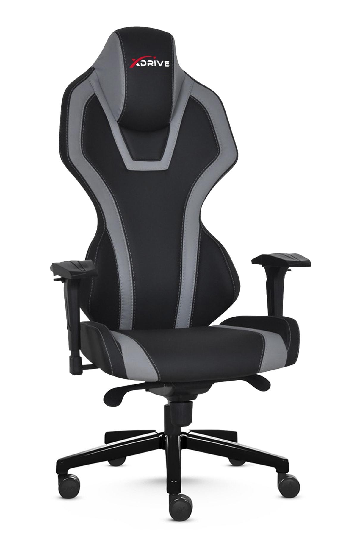 XDrive Bora Profesyonel Oyuncu Koltuğu Gri/siyah 1