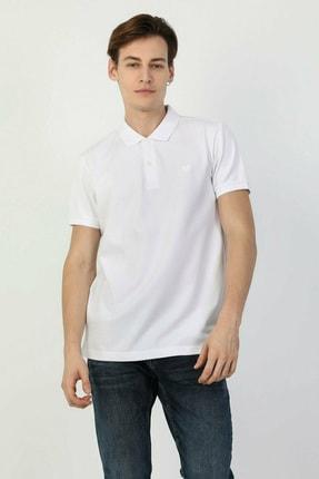 Colin's Regular Fit Polo Yaka Beyaz Erkek Kısa Kol Tişört CLTKTTSHM0766200 3
