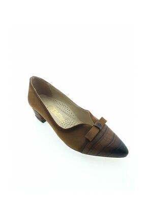 Aymood Fiyonklu Topuklu Kadın Ayakkabı 0