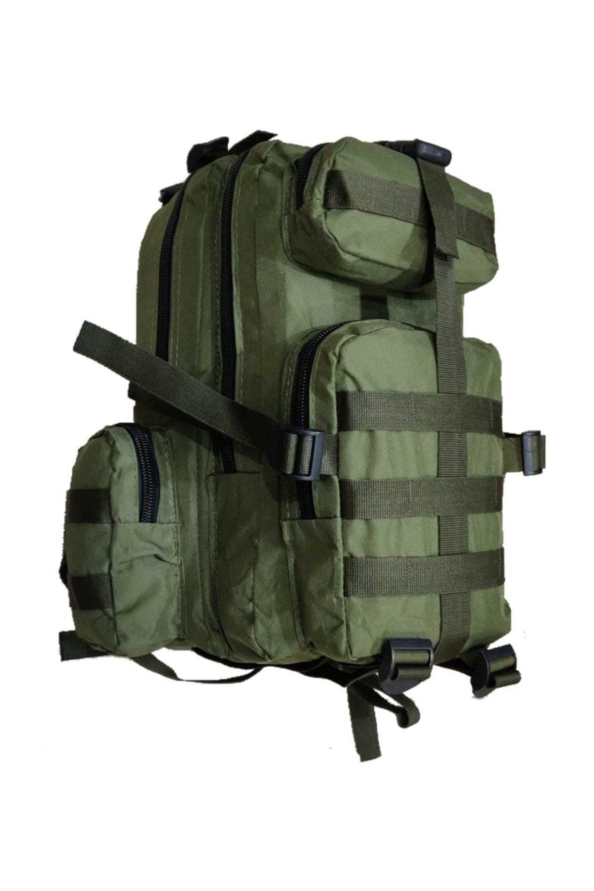 Askeri Dağcı Outdoor Kamp Treking Taktik Sırt Çantası 35 Lt Haki