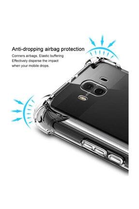 Dijimedia Huawei Mate 10 Pro Kılıf Şeffaf Köşe Korumalı Lüx Darbe Emici Silikon 2