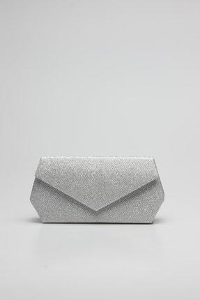 Rovigo Kadın  Deri Gümüş Çanta 2