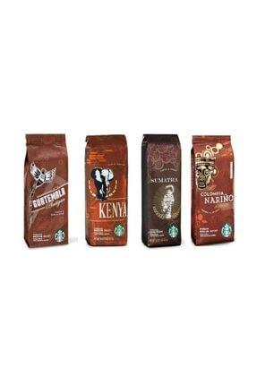 Starbucks Starbucks Deneme Paketi Filtre Kahve 4x250 gr 4 Paket Kahve Makinası İçin Çekilmiş 0