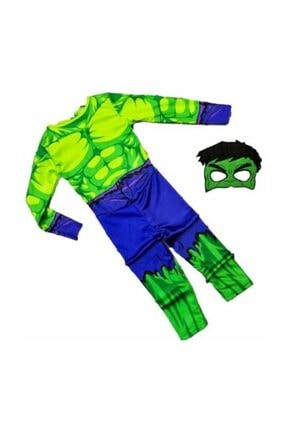 Tpm Hulk Çocuk Kostümü - Yeşil Dev Hulk Adam Çocuk Kostümü 0