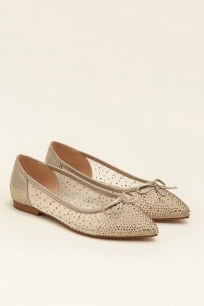 Elle JEANETTA Altın Kadın Casual Ayakkabı 1