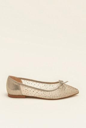 Elle JEANETTA Altın Kadın Casual Ayakkabı 3
