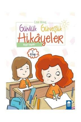 Mavi Kirpi Kitap Neşeli Hayaller - Günlük Güneşlik Hikayeler 5. Kitap / 1. Sınıf Okuma Kitabı 0