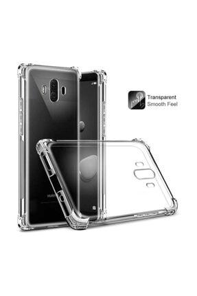 Dijimedia Huawei Mate 10 Pro Kılıf Şeffaf Köşe Korumalı+ekran Koruyucu Nano Cam 1