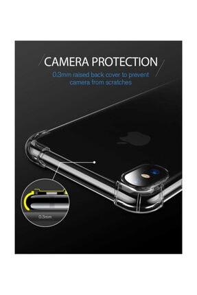 Dijimedia Iphone Xr Kılıf Şeffaf Köşe Korumalı+ekran Koruyucu Nano Cam 3