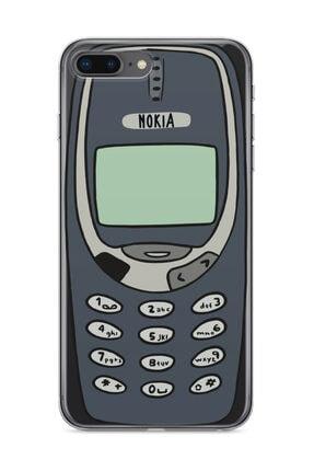wowicase Apple Iphone 8 Plus Telefon Kılıfı Orjinal Nokia 3310 Tasarımlı 0