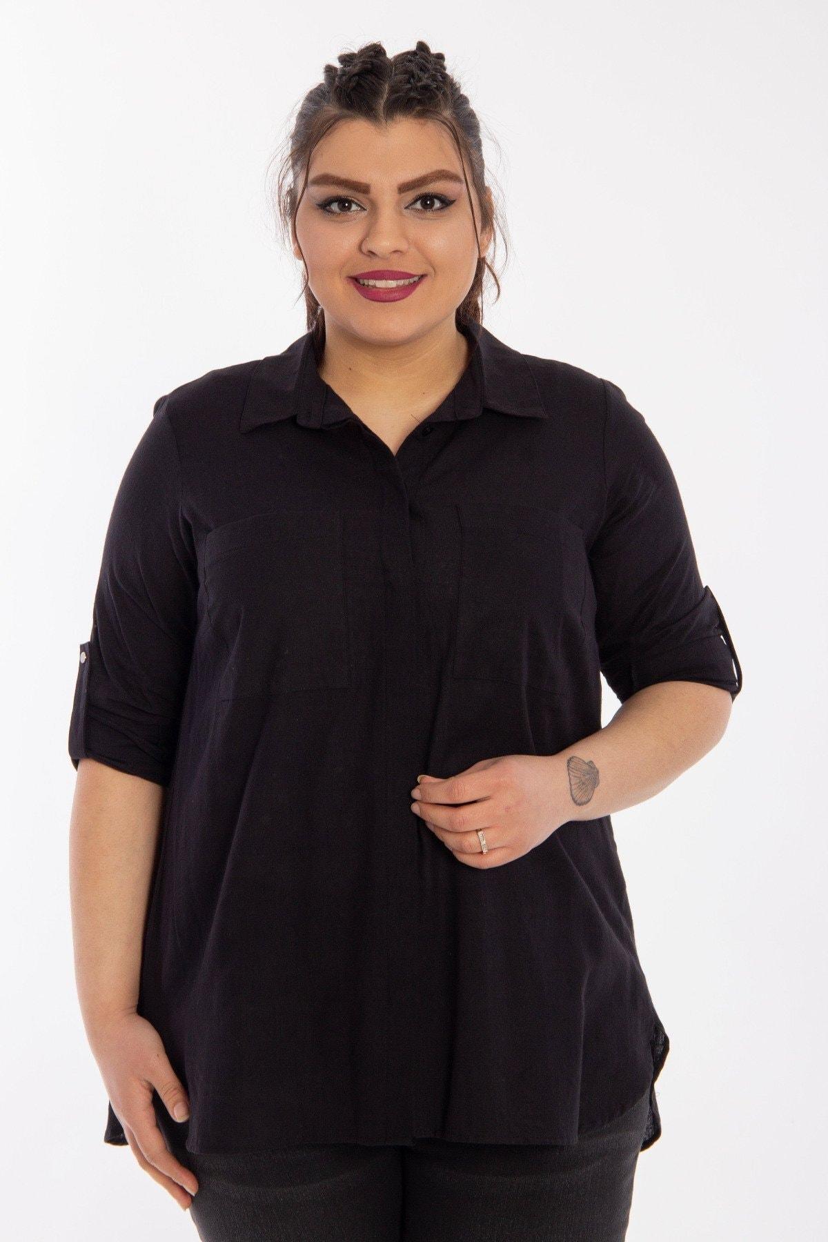 Hanezza Cep Detaylı Gömlek 0