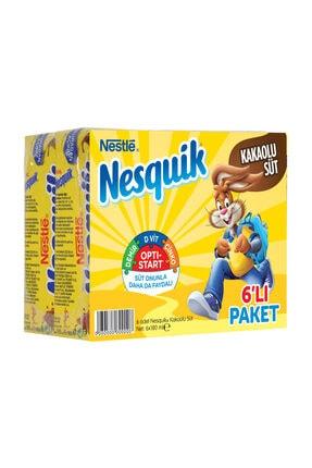Nesquik Nestle Nesquik Kakaolu Süt 6X180 Ml 0
