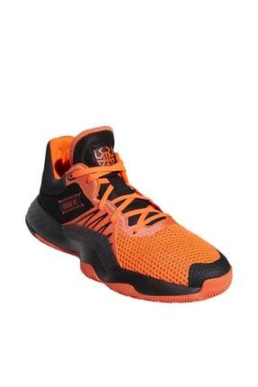 adidas D.O.N Issue Erkek Turuncu Basketbol Ayakkabısı EH2133 2
