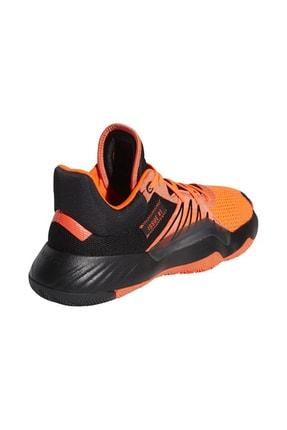 adidas D.O.N Issue Erkek Turuncu Basketbol Ayakkabısı EH2133 3