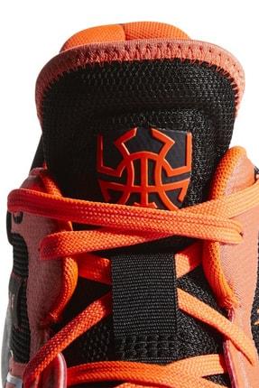 adidas D.O.N Issue Erkek Turuncu Basketbol Ayakkabısı EH2133 4