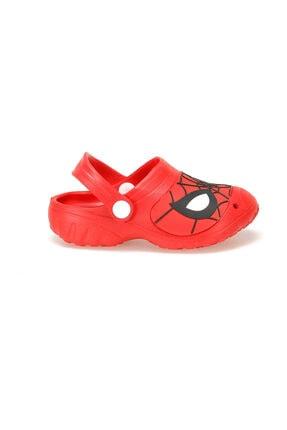 Spiderman Kırmızı Erkek Çocuk Yazlık Terlik 1