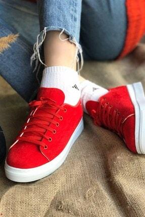 Vans Nubuk Spor Ayakkabı - Kırmızı SPR0044