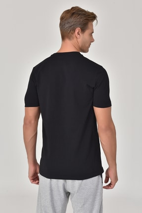 bilcee Siyah Erkek T-shirt  GS-8809 1