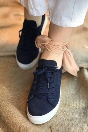 Vans Nubuk Spor Ayakkabı - Lacivert SPR0062