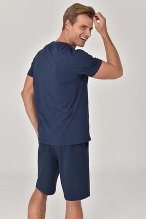 bilcee Lacivert Erkek T-shirt  GS-8811 3