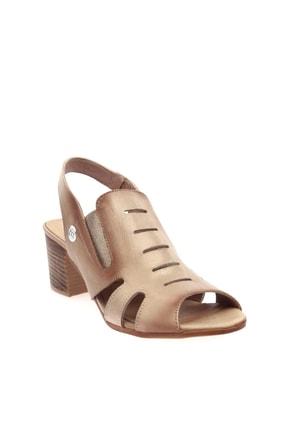 Mammamia Bej Faber Kadın Sandalet D20YS-1045 0