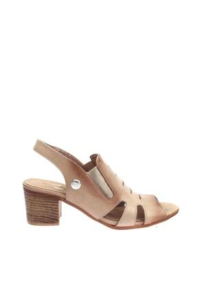 Mammamia Bej Faber Kadın Sandalet D20YS-1045 1