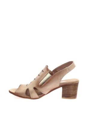 Mammamia Bej Faber Kadın Sandalet D20YS-1045 2