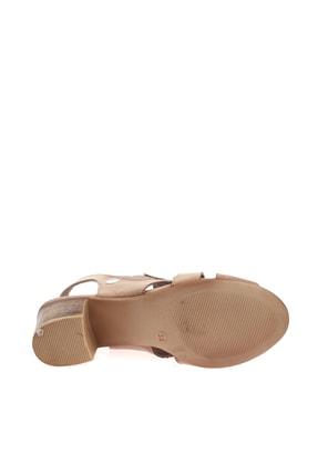 Mammamia Bej Faber Kadın Sandalet D20YS-1045 3
