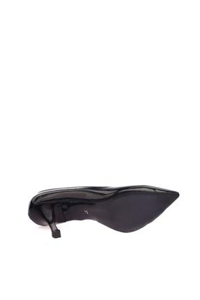 Dgn Siyah Rugan Kadın Topuklu Ayakkabı 152-186 2