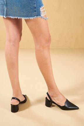Louis Cardy Mentallo  Siyah  Hakiki Deri Kadın Klasik Topuklu Ayakkabı 0