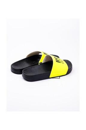 US Polo Assn GUSTY Neon Sarı Kadın Terlik 100510004 2