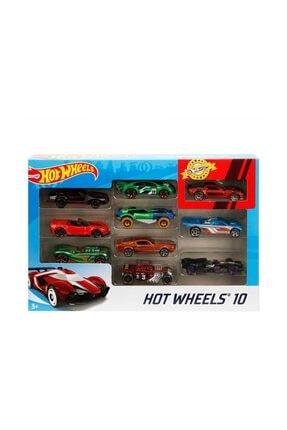 HOT WHEELS Hot  Wheels 10'lu Araba - Karışık 1