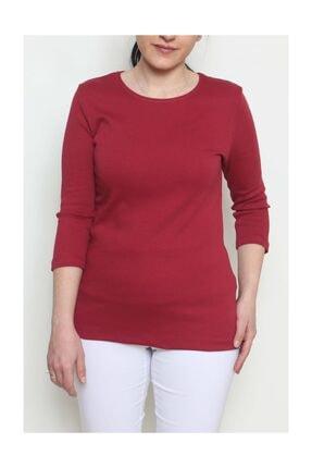 Cottoncool Kadın %100 Pamuk Truvakar Kol Bluz 2