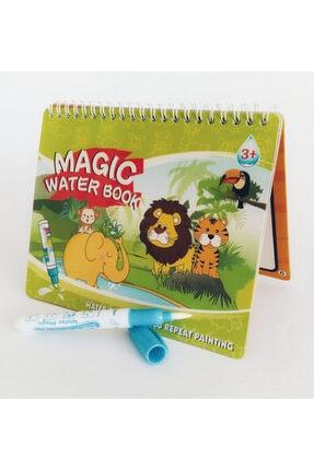 Magic Water Sihirli Boyama Kitabı Water Painting Intimate Sulu Boya Orman Hayvanları 0