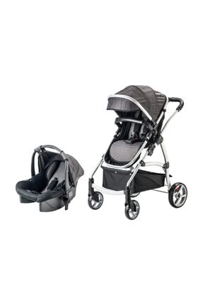 Snopy Trio Travel Sistem Bebek Arabası Siyah (s) 0