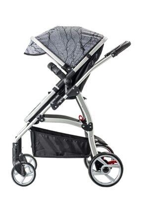 Snopy Trio Travel Sistem Bebek Arabası Siyah (s) 1