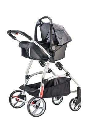 Snopy Trio Travel Sistem Bebek Arabası Siyah (s) 2