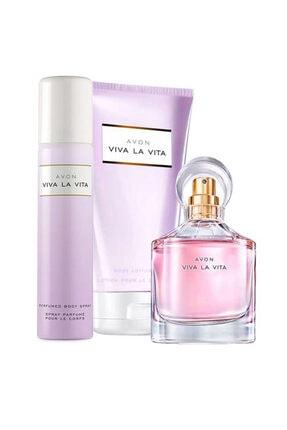 Avon Viva La Vita Edp Kadın Parfüm Seti 8681298983095 0