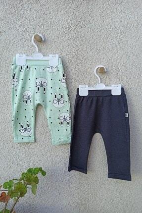 Tongs Baby Tavşanlı Kız Bebek 2'li Tek Alt 3-6-9-12 Ay 2