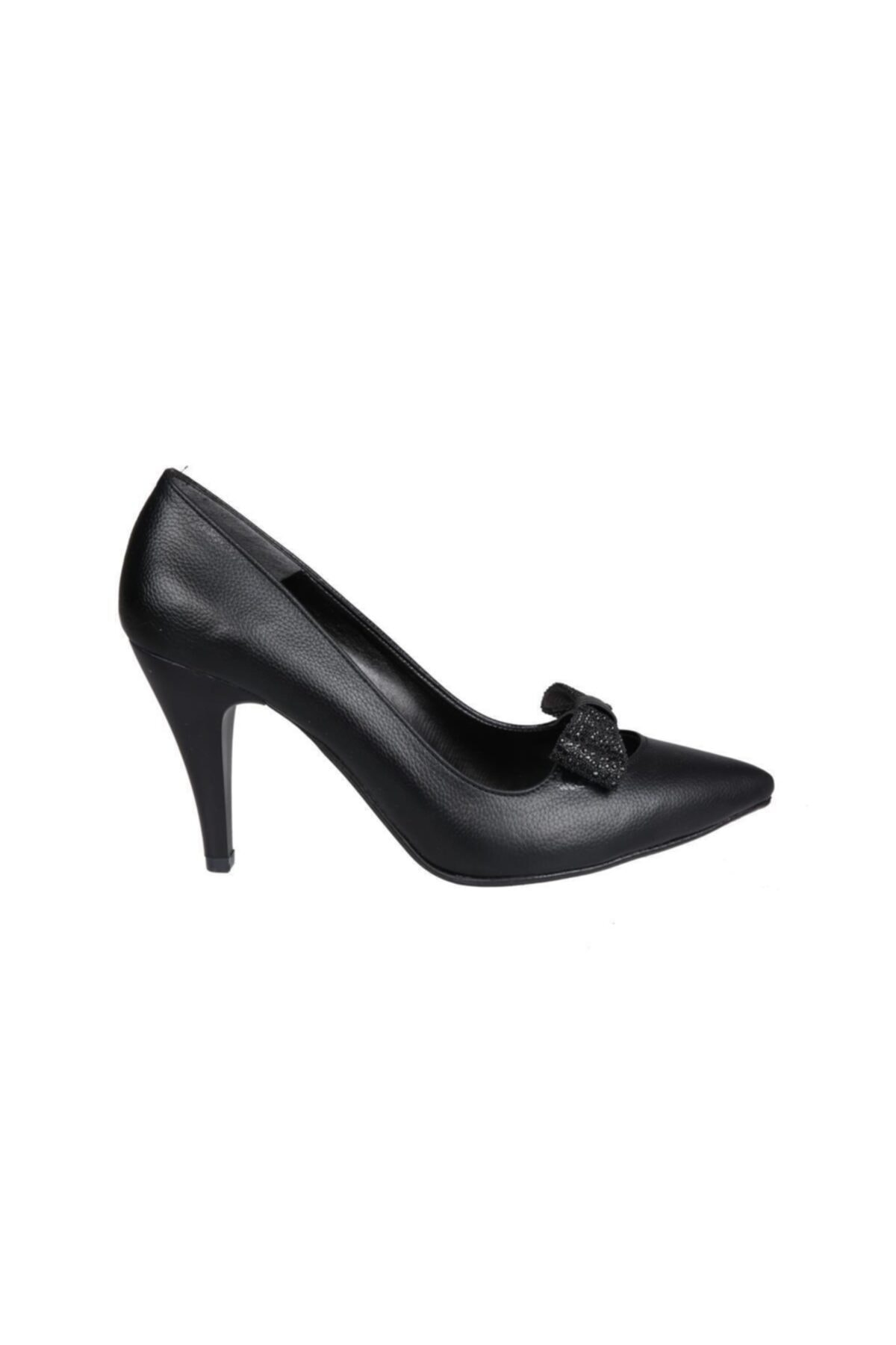 PUNTO Siyah Kadın Stiletto